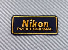 Embroidered Patch Iron Sew Logo Emblem NIKON camera lens photo canon fuji sony