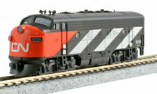 Kato 1762135Dcc N Scale F7A Canadian National Cn #9098 176-2135-Dcc