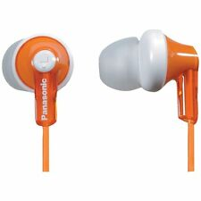Panasonic RP-HJE120 In-Ear only Headphones - Orange