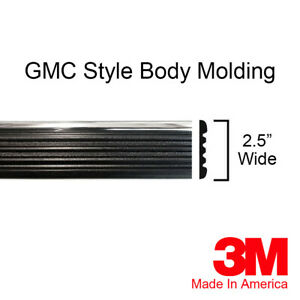 "GMC Yukon Sierra Suburban Chrome Side Body Trim Molding 80"" Roll By Brickyard"