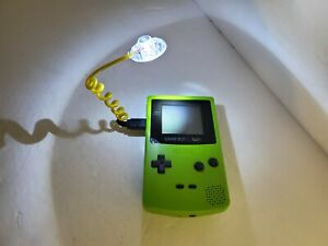 NEW Yellow Wormlight Worm Light for The Gameboy Color System (No Console)