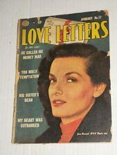 Vintage Quality Love Letters #17 Vg Ward Artwork