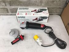 Metabo WEPA 14-125 125mm 110v 1400 Watt Paddle Switch Angle Grinder