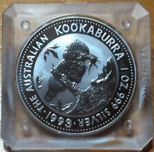 1993 $1 KOOKABURRA 1 oz SILVER BULLION COIN...IN ORIGINAL SQUARE CASE.