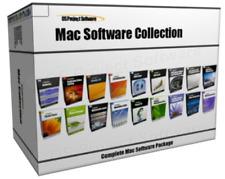HUGE MAC OS X Multimedia Office Project Management Art Design Software Bundle
