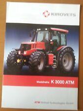 Kirovets K 3000 ATM, 2007 tractor, 4 S. folleto alemán