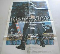 Filmplakat,WATTERLOO,ORSEN WELLES,ROD STEIGER,CHRISTOPHER PLUMMER#38