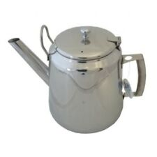 Commercial Traditional Stainless Steel Tea Pot -Cafe Pattern 5.6 Litre / 10 Pint