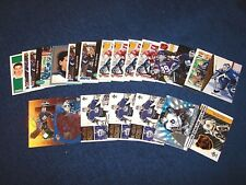 FELIX POTVIN MAPLE LEAFS BRUINS KINGS 26 CARDS WITH INSERTS (18-38)