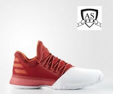 new style 186e1 3f899 Adidas HARDEN VOL 1 Basketball Sneaker Red White BW0547 Men s Size 19