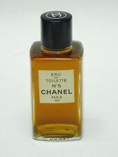 """VINTAGE CHANEL EAU de TOILETTE No 5 SPLASH 4 oz (5.5"""" BOTTLE)"""