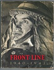 Front Line 1940 - 1941 Official History of World War II Britain Homeland Defence