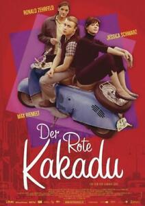 Der Rote Kakadu Poster 59 x 84 cm Plakat Wanddeko Wandbild Deko