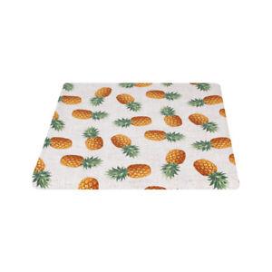 Tessuto Cotone Taglio 280x280cm Fantasia Ananas per Cuscini Tovaglie Arredo Casa