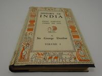 VINTAGE 1949 HISTORY OF INDIA FROM EARLIEST TIMES TO 1939 SIR GEORGE DUNBAR VOL1
