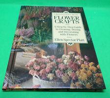 Flower Crafts Book by Ellen Spector Platt 1993