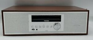 Toshiba TY-CWU700 Vintage Style Bluetooth Component CD Player Speaker System