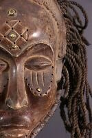 MASQUE CHOKWE AFRICAN ART AFRICAIN PRIMITIF ARTE AFRICANA AFRIKANISCHE KUNST **