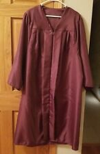 Jostens Maroon Graduation Costume Gown Size Small 5 ft 4 in - 5 ft 6 in