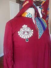 Pakistani indian shalwar kameez kurta wedding partywear dress designer sari
