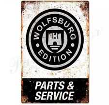 Plaque Vintage Garage Wolfsburg Edition