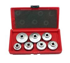 Abn Paper Cartridge Housing Oil Filter Cap Wrench 7 Piece Socket Set Tool Kit