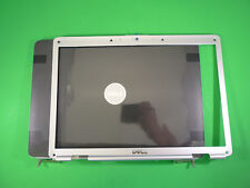 New Dell Inspiron 1525 1526 Black Lcd Back Cover w/Hinges & Bezel XT981 RU676