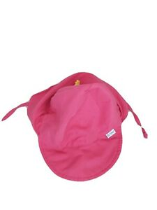 Girls i play Flap Sun Protection Hat | UPF 50- all-day sun, Pink,  9-18 months
