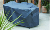 OFC024  280x220cm; Outdoor Setting Cover; Pewter Grey