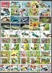 Lot de timbres Football 2