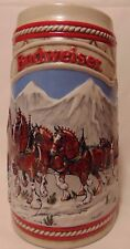 New listing Budweiser Anheuser Busch A Series Beer Stein Clydesdale Limited Edition
