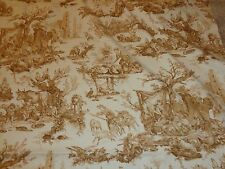 Williams Sonoma French Countryside Pastoral Toile 68 x 108  Tablecloth Italy NEW