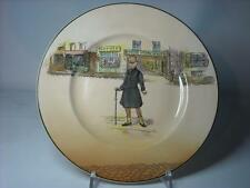 "Royal Doulton MR MICAWBER Rack Plate 10.25"" - D6327 Series Ware Dickens Ware"