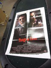 One Sheet Movie Poster Tango & Cash 1989 Sylvester Stallone Kurt Russell