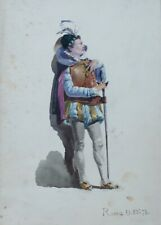 Kostüm Studie, Italien 1870 (4)