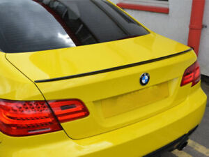 BMW E92 3-Series COUPE M3 Style 2006 - 2011 M-TYPE LIP SPOILER - MATTE BLACK