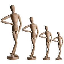 Zeichenpuppe Gliederpuppe weiblich Modellpuppe Holz-Zeichenfigur Puppe Figur