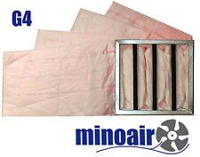Taschenfilter G4 592 X 592 x 360 mm Grobstaubfilter Vorfilter Industrie Gastro