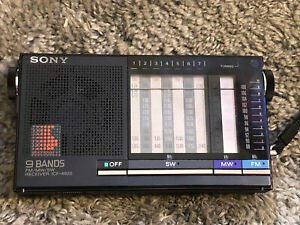 Sony ICF-4920 multiband AM FM SW radio Receiver In Overall Great Shape