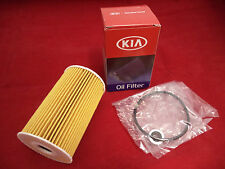 Genuine Kia Diesel Oil Filter Optima Ceed Rio Sportage Soul Venga P/N 263202A500