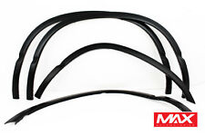 FTDO801 2002-2008 Dodge Ram Short Bed MATTE BLACK Stainless Steel Fender Trim