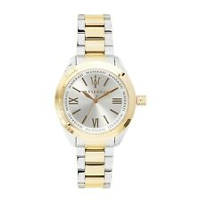 Official Maserati Women's Steel/Gold Pole Position Watch