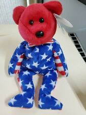 "Ty Beanie Baby ""Liberty"" Born June 14th, 2001 NWT free ship"