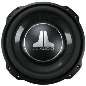 "JL AUDIO 12TW3-D4 Dual 4 Ohm 12"" SHALLOW SLIM MOUNT SUBWOOFER FREE SHIPPING"