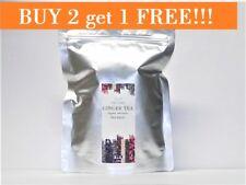 Ginger Herbal Tea - 30 Tea Bags - Ginger Root - Caffeine Free 100% Natural