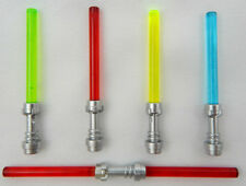 NEW LEGO STAR WARS LIGHTSABER LOT minifig red blue yellow green maul luke yoda