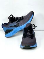 Nike Epic React Flyknit 2(Thunder Grey/Black-Ocean Fog) Size 8 Men's BQ8928-012