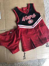 Cheerleader Dress San francisco 49ers Girls Size 18months great condition