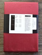 St Geneve Capri Egyptian Cotton Sateen King Pillowcases - Set of 2 - Carmine Red