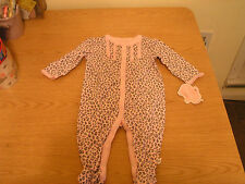 First Moments Baby Infant 1 Piece Sleepwear Romper size 6 months